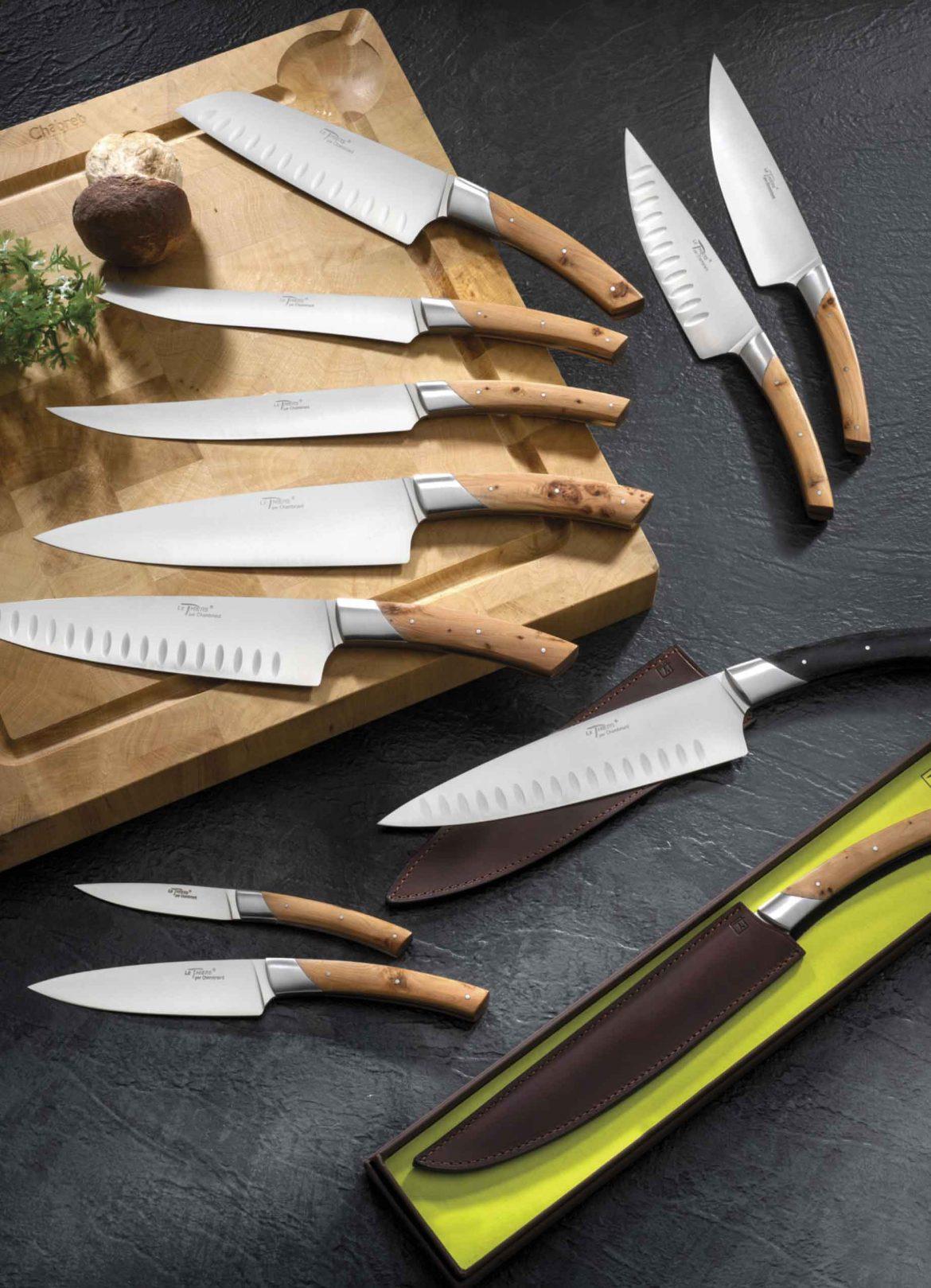 """Série de couteaux cuisine """"Grand Gourmet"""""""