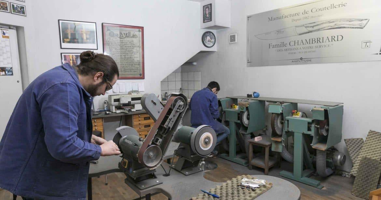 L'atelier de la Coutellerie Chambriard est ouvert tous les jours de l'année